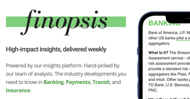 Finopsis - high-impact insights, delivered weekly